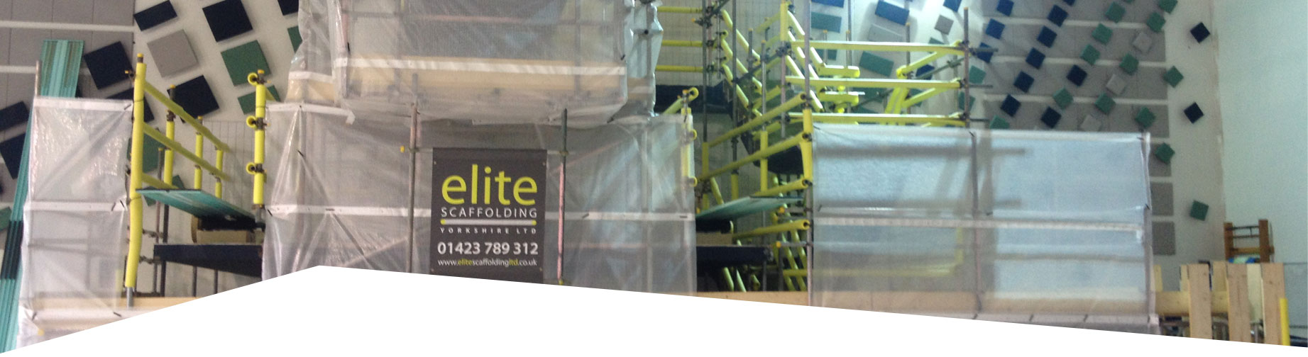 Elite Scaffolding Safety first
